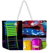 Color Your Life 1 Weekender Tote Bag