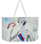 Color Your Life Weekender Tote Bag