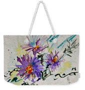 Colorado Asters Weekender Tote Bag