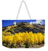 Colorado Autumn Hike Weekender Tote Bag