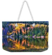 Colorado Autumn Weekender Tote Bag