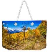 Colorado Backcountry Autumn View Weekender Tote Bag