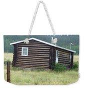 Colorado Cabin Weekender Tote Bag