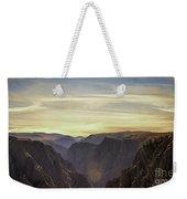 Colorado Canyon Morning Weekender Tote Bag
