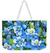Colorado Columbines Weekender Tote Bag