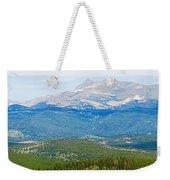 Colorado Continental Divide Panorama Hdr Crop Weekender Tote Bag