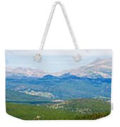 Colorado Continental Divide Panorama Hdr Weekender Tote Bag