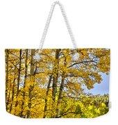 Colorado Fall Aspens 2 Weekender Tote Bag