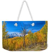 Colorado Fall Foliage Back Country View Weekender Tote Bag