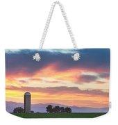 Colorado Farmers Sunset Weekender Tote Bag