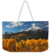 Colorado Gold Weekender Tote Bag by Darren  White