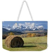 Colorado Haybale Weekender Tote Bag