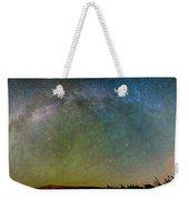 Colorado Indian Peaks Milky Way Panorama Weekender Tote Bag