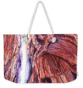 Colorado Mountains Garden Of The Gods Canyon Weekender Tote Bag