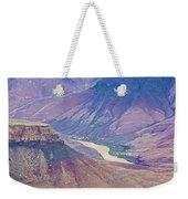 Colorado River At Cape Royal On North Rim Of Grand Canyon-arizona Weekender Tote Bag