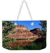 Colorado River At Moab Weekender Tote Bag