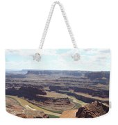 Colorado River From Dead Horse Point  Weekender Tote Bag