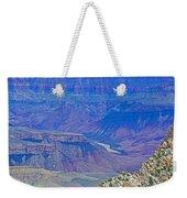 Colorado River Two At Cape Royal On North Rim Of Grand Canyon-arizona Weekender Tote Bag