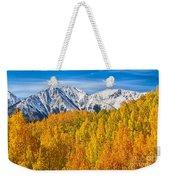 Colorado Rocky Mountain Autumn Beauty Weekender Tote Bag
