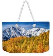 Colorado Rocky Mountain Autumn Magic Weekender Tote Bag