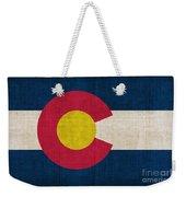 Colorado State Flag Weekender Tote Bag by Pixel Chimp