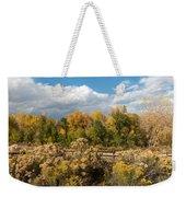 Colorado Urban Autumn Landscape Weekender Tote Bag
