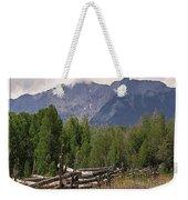 Colorado Wilson Peak Clouds Weekender Tote Bag