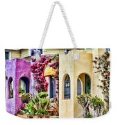 Colored Cottages By Diana Sainz Weekender Tote Bag