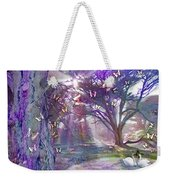 Colored Forest Weekender Tote Bag