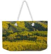 Colored Hillside Weekender Tote Bag
