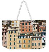 Colored Italian Facades Weekender Tote Bag