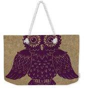 Colored Owl 1 Of 4  Weekender Tote Bag