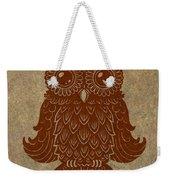 Colored Owl 2 Of 4  Weekender Tote Bag