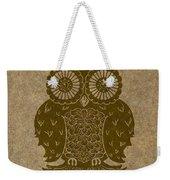 Colored Owl 3 Of 4  Weekender Tote Bag