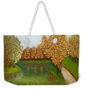 Colored Reflections Weekender Tote Bag