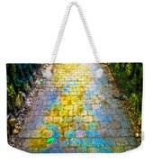 Colored Stones And Lichen Covered Bridge Weekender Tote Bag