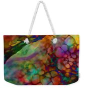 Colored Tafoni Weekender Tote Bag