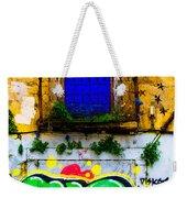 Colored Wall Weekender Tote Bag