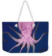 Colored X-ray Of An Unidentified Octopus Weekender Tote Bag