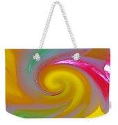 Marble Jelly Swirl Weekender Tote Bag