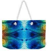 Colorful Abstract Art Pattern - Color Wheels - By Sharon Cummings Weekender Tote Bag