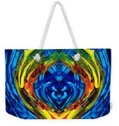 Colorful Abstract Art - Purrfection - By Sharon Cummings Weekender Tote Bag