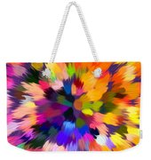 Colorful Abstract Background Weekender Tote Bag