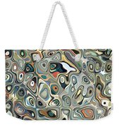 Colorful Abstract Shapes 2 Weekender Tote Bag