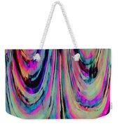 Colorful Abstract W Weekender Tote Bag