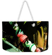Colorful Accents In Florida Gardens Weekender Tote Bag