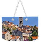 Colorful Adriatic Town Of Losinj Weekender Tote Bag