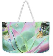 Colorful  Aloa Vera Weekender Tote Bag