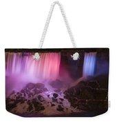 Colorful American Falls Weekender Tote Bag by Adam Romanowicz
