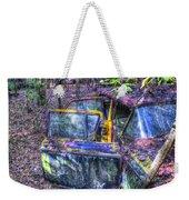 Colorful Antique Car 1 Weekender Tote Bag